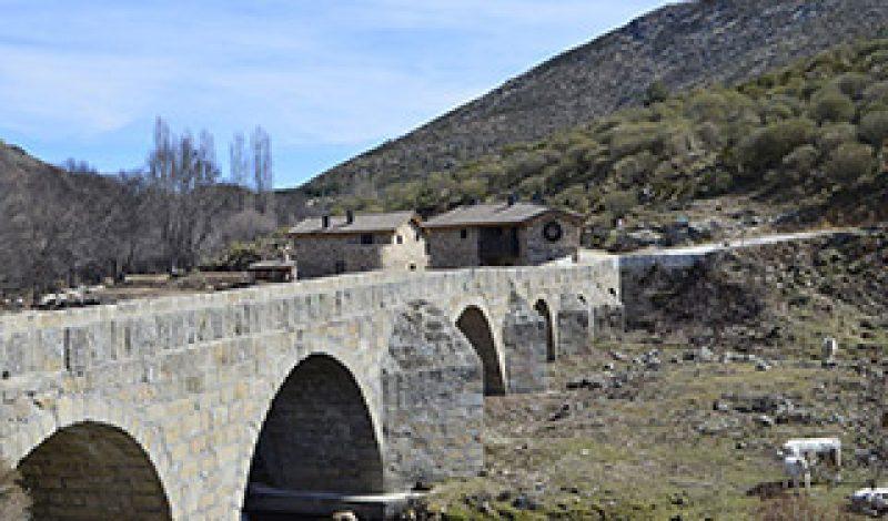 Acceso natural Parque Regional sierra de Gredos